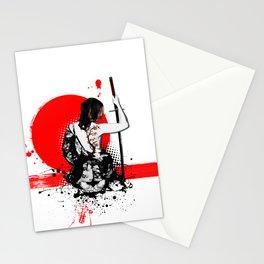Trash Polka - Female Samurai Stationery Cards