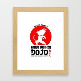 Kame Sennin Dojo School Framed Art Print