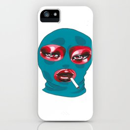 Gang Girl iPhone Case