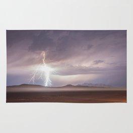 Lightning Strike, Black Rock Desert, NV Rug