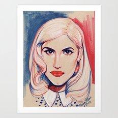 Gwennie Gwen Gwen Art Print