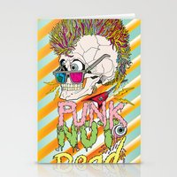 punk Stationery Cards featuring Punk by dogooder
