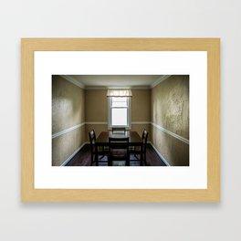 To Dine Alone... Framed Art Print