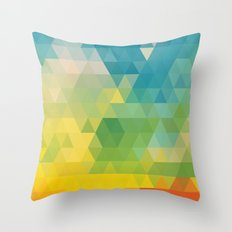 Meduzzle: Colorful Days Throw Pillow
