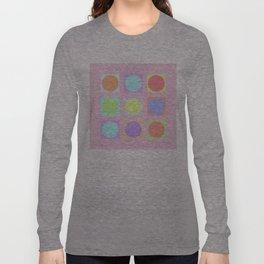 Pastel Dots Long Sleeve T-shirt