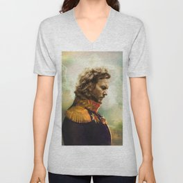 Eddie Classical Regal General Painting Unisex V-Neck