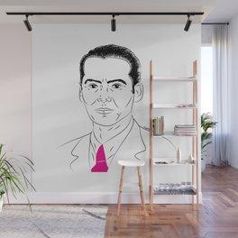 A Federico Wall Mural