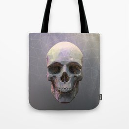 Skull Colorful Wires 1 Tote Bag