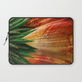 Bloody Grunge Daisy Laptop Sleeve