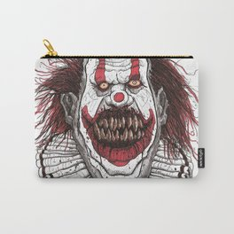 Killer Clown (Pen & Ink) Carry-All Pouch