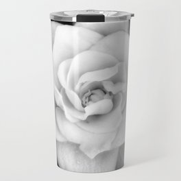 Gardenia Black and White Travel Mug