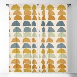 Autumn Shapes 120 Blackout Curtain