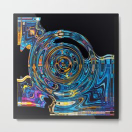 MISSING SPACE MASS Metal Print
