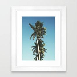 Palms print, Beach art, Nature, Beach, Palm tree, Modern, Wall Art, Tropical Framed Art Print