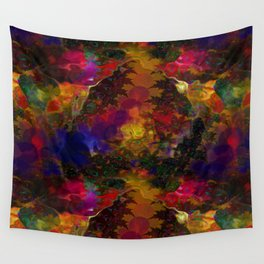 Stereo Trippin' Psychedelic Fractal Wall Tapestry