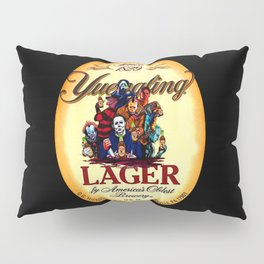 horror movie characters yuengling lager by america's oldest brewery halloween Pillow Sham