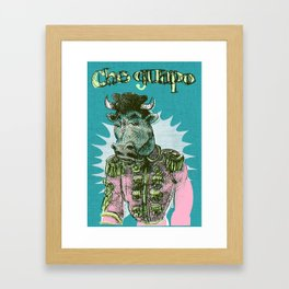 el guapo Framed Art Print