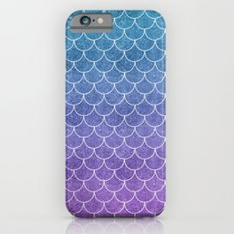 Mermaid Scales in Cotton Candy iPhone Case