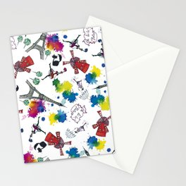 Oh, la-la,Paris! Stationery Cards