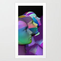 public viewing -e- Art Print