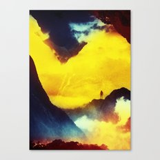 This volcano is mine Canvas Print