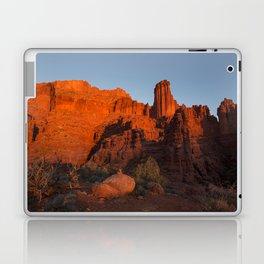 Sunset in Fisher Towers, Moab, Utah Laptop & iPad Skin
