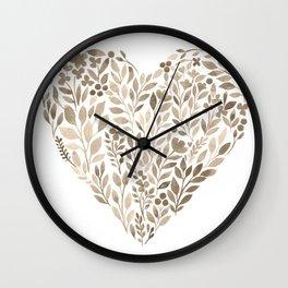 My Heart Will Go On Wall Clock