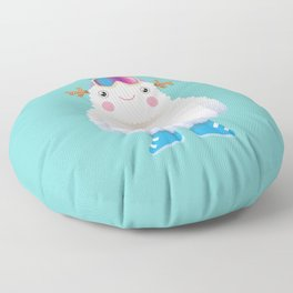Cute Yeti Floor Pillow
