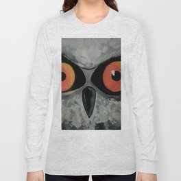 Fierce Owl Long Sleeve T-shirt