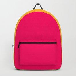 Hot Pink / Golden Heart Gradient Colors Backpack