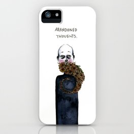 Abandoned Thoughts iPhone Case