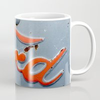 ford Mugs featuring FORD by TMCdesigns