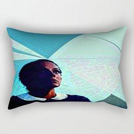 Under Her Sky Rectangular Pillow