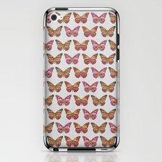 FAMIGLIA FARFALLA iPhone & iPod Skin