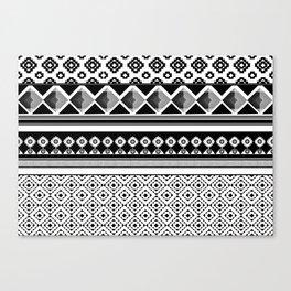 Modern Black 2 Canvas Print
