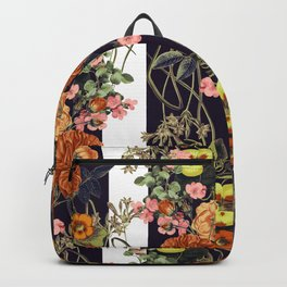 Floral Crossings 02 Backpack