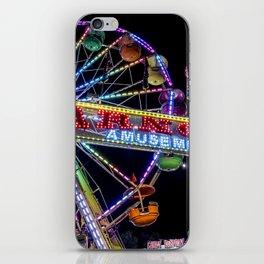 Ferris Wheel at Carnival iPhone Skin