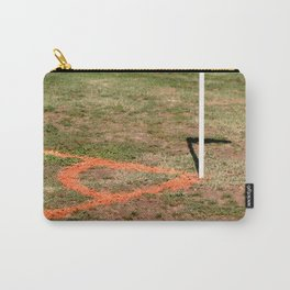 Orange Soccer Corner Carry-All Pouch