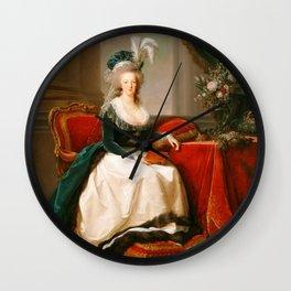 Marie Antoinette v3 Warm Wall Clock