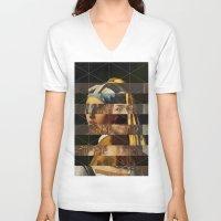 van V-neck T-shirts featuring Dürer van Meer by Marko Köppe