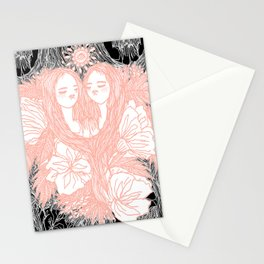 selkie sisters Stationery Cards