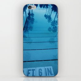 Poolside, Miami.  iPhone Skin