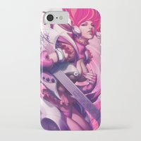 heavy metal iPhone & iPod Cases featuring Pepper Heavy Metal by Artgerm™