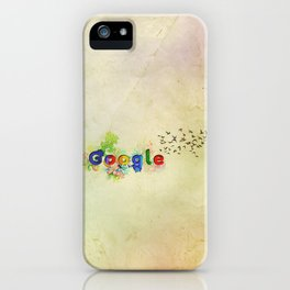 Google wallpaper iPhone Case