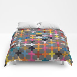 Glaze to Grey Comforters