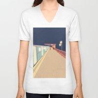 infinity V-neck T-shirts featuring Infinity by Fernanda Schallen