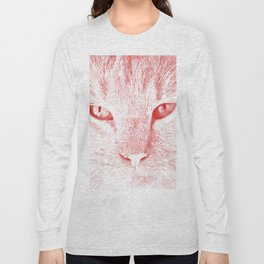 sandy, close up, drawing red Long Sleeve T-shirt