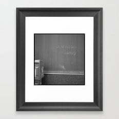 downtown library Framed Art Print