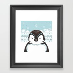 Messer Pinguino Framed Art Print