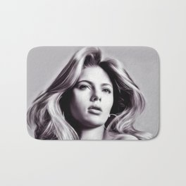 Scarlett Johansson - Celebrity Art/ Bath Mat